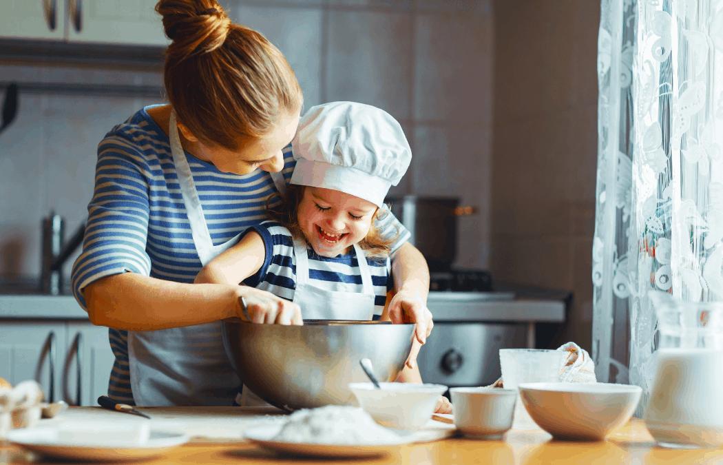 cocinar con tus hijos